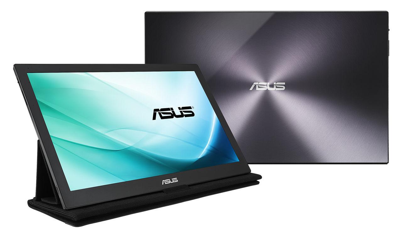 Asus visar skärm som drivs på USB Type-C