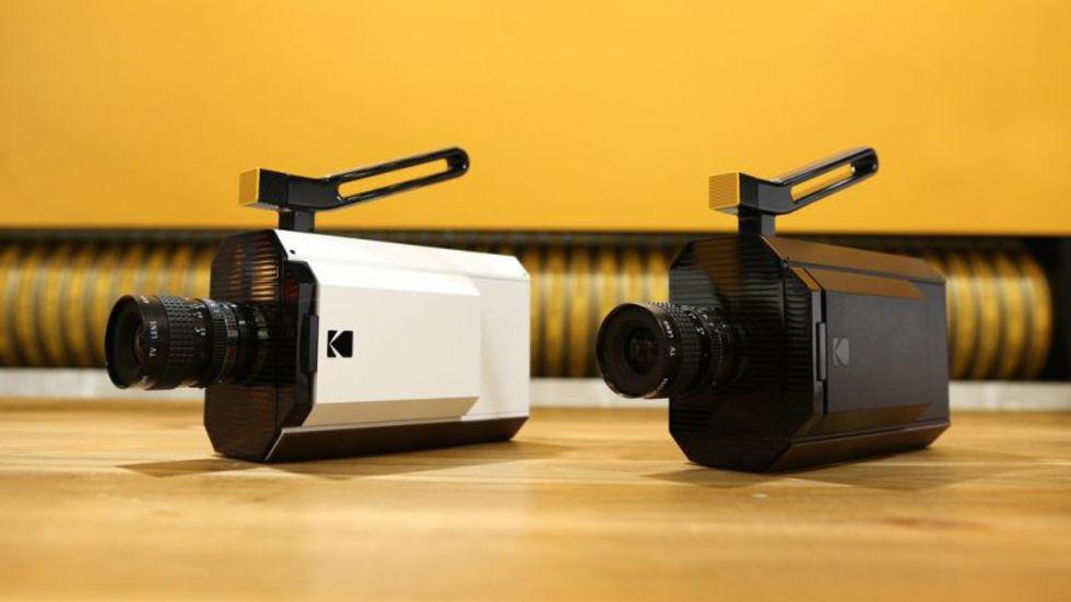 Kodak visar upp en Super 8-kamera
