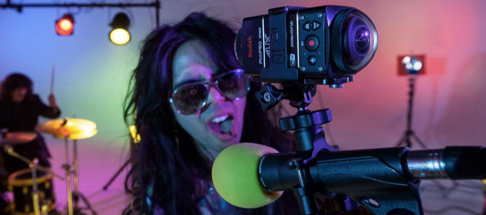 Kodak visar upp actionkameran SP360 4K