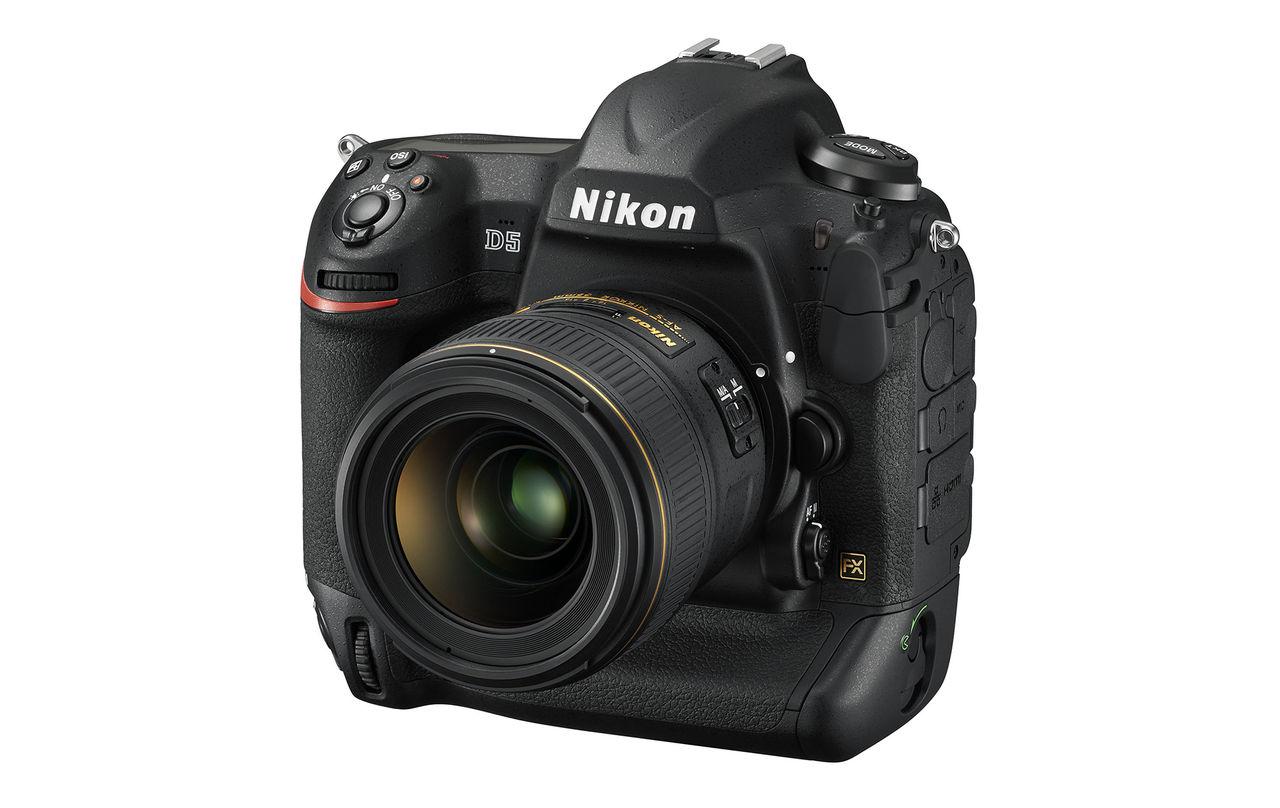 Nikon presenterar nya D5