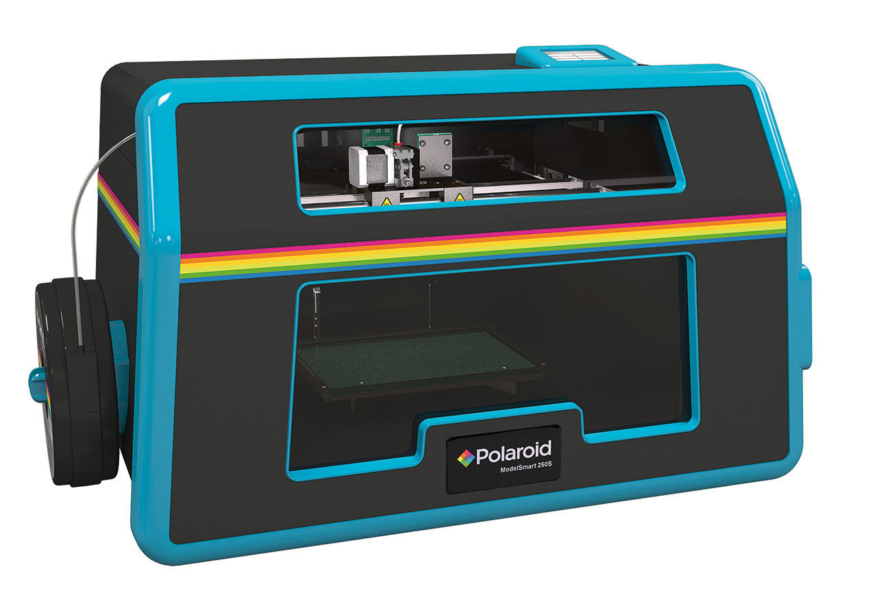 Polaroid visar upp en 3D-skrivare