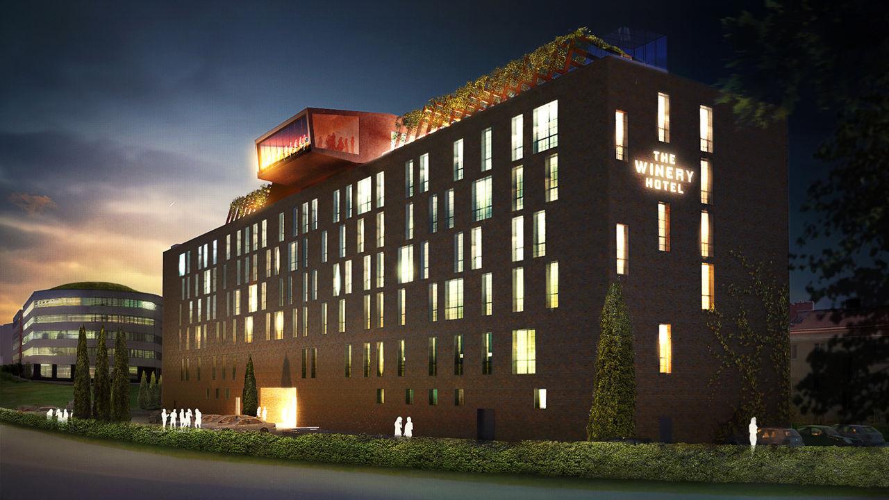 Nytt hotell med vinfokus