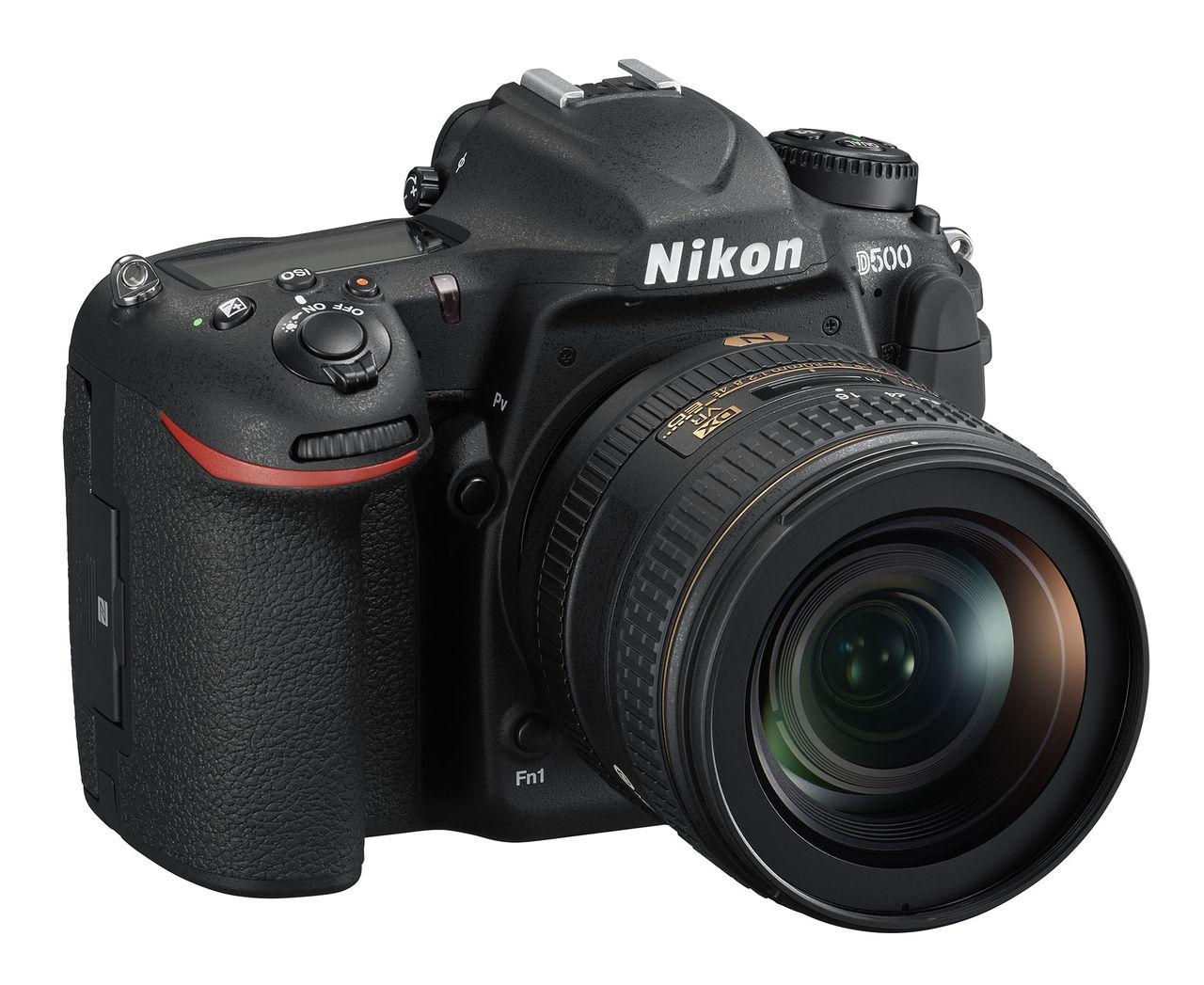 Nikon presenterar D500