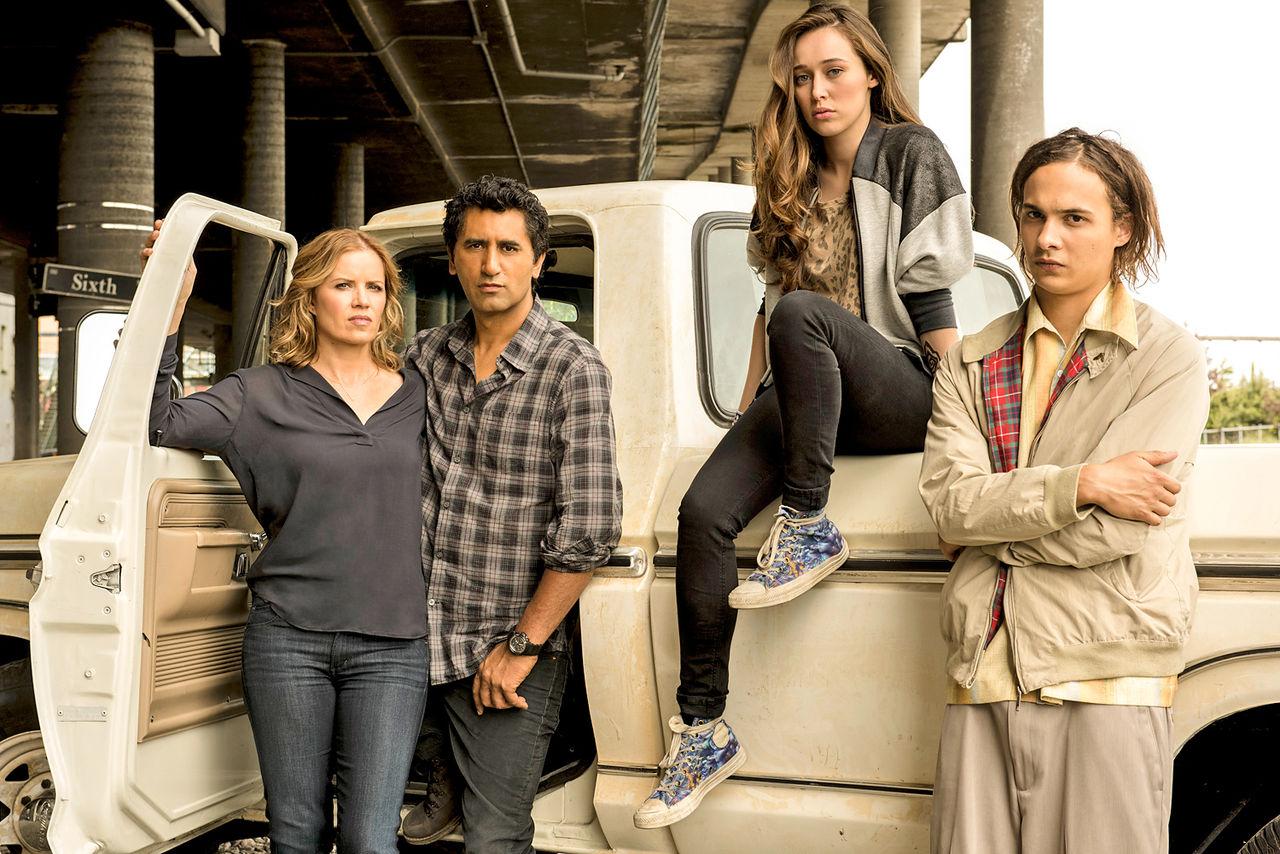 Andra säsongen av Fear the Walking Dead anländer i april