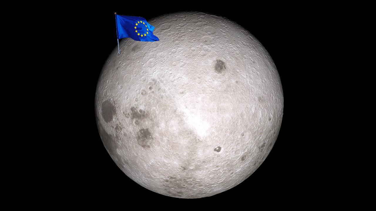 ESA vill sätta människor på månen igen