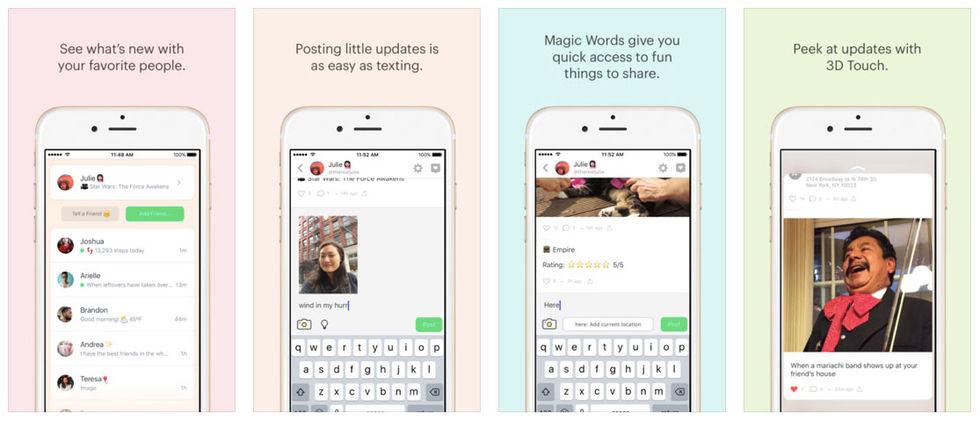 Peach är en ny sociala medier-app