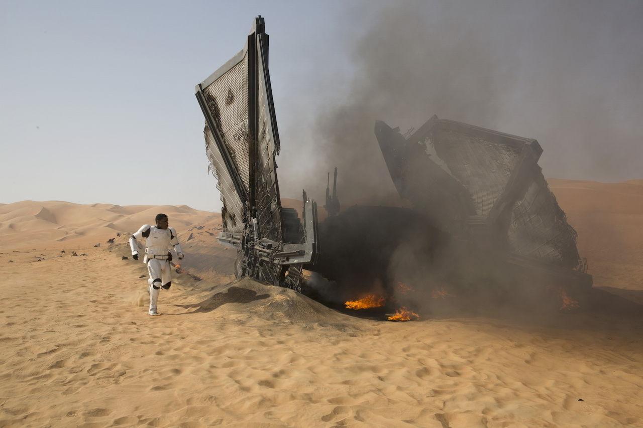 Borttagna scener med på Blu-ray-versionen av Star Wars VII