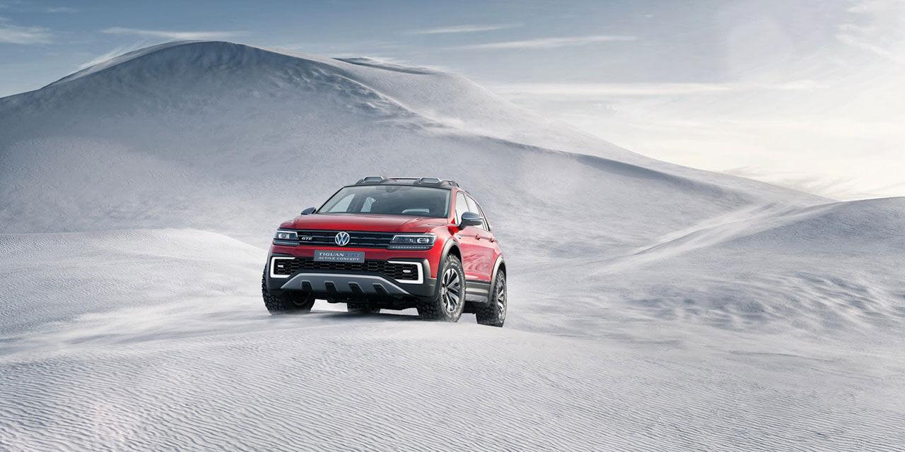 Volkswagen ruffar till Tiguan