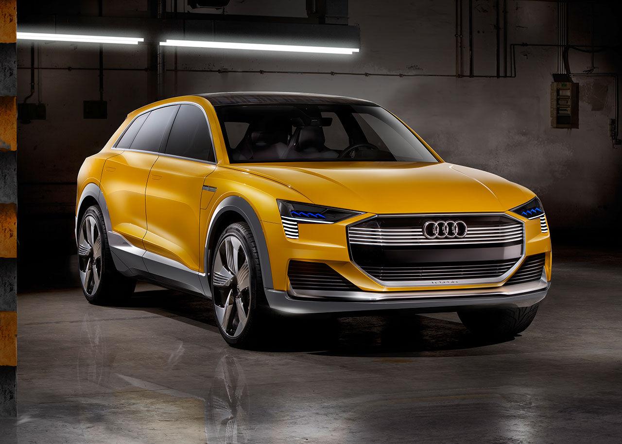 H-tron quattro concept - ny bränslecellsbil från Audi