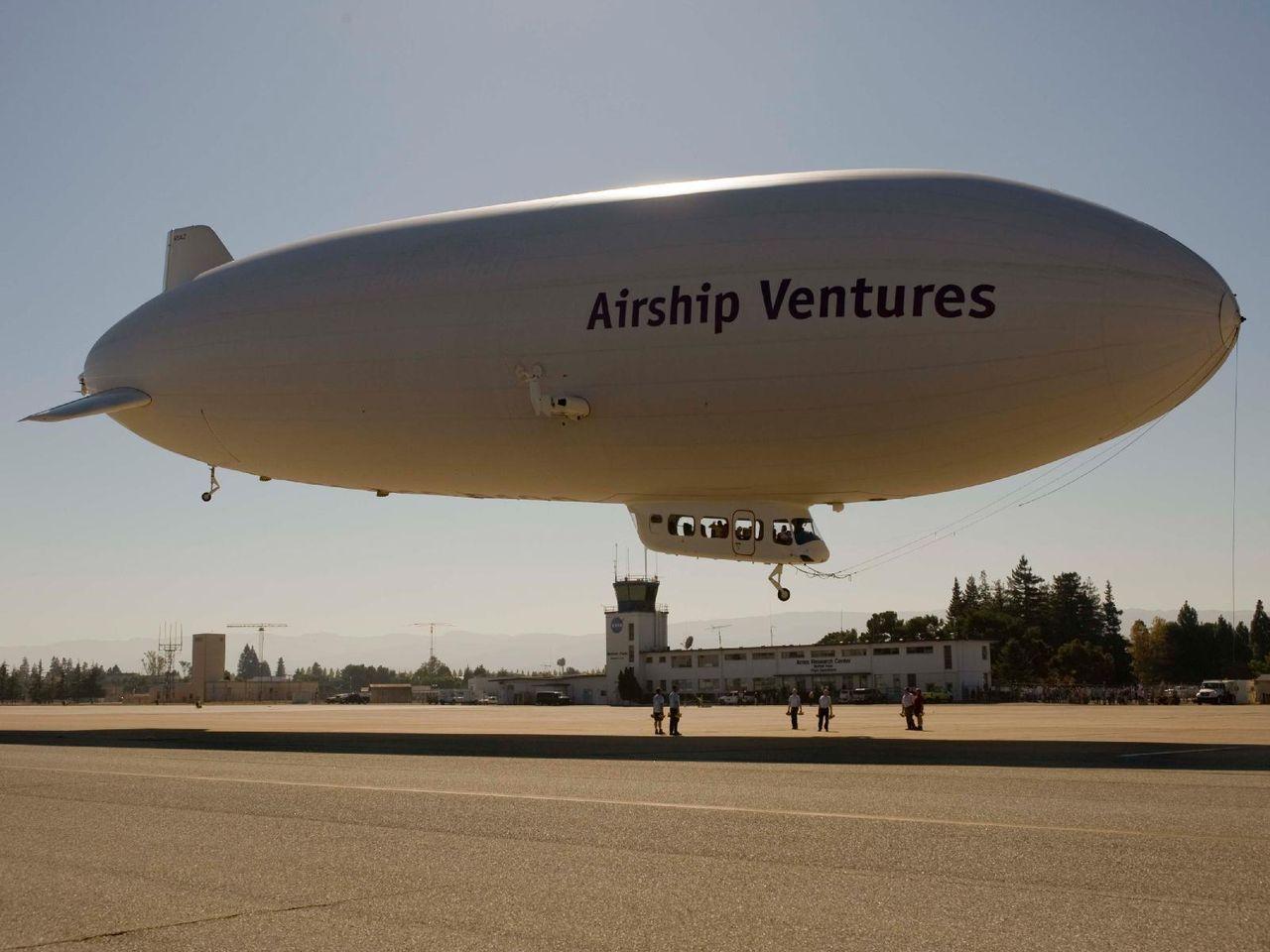 Kanada vill börja använda zeppelinare