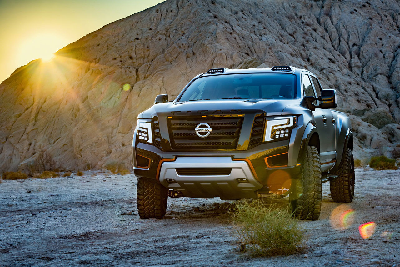 Nissans pickup Titan har blivit en krigare