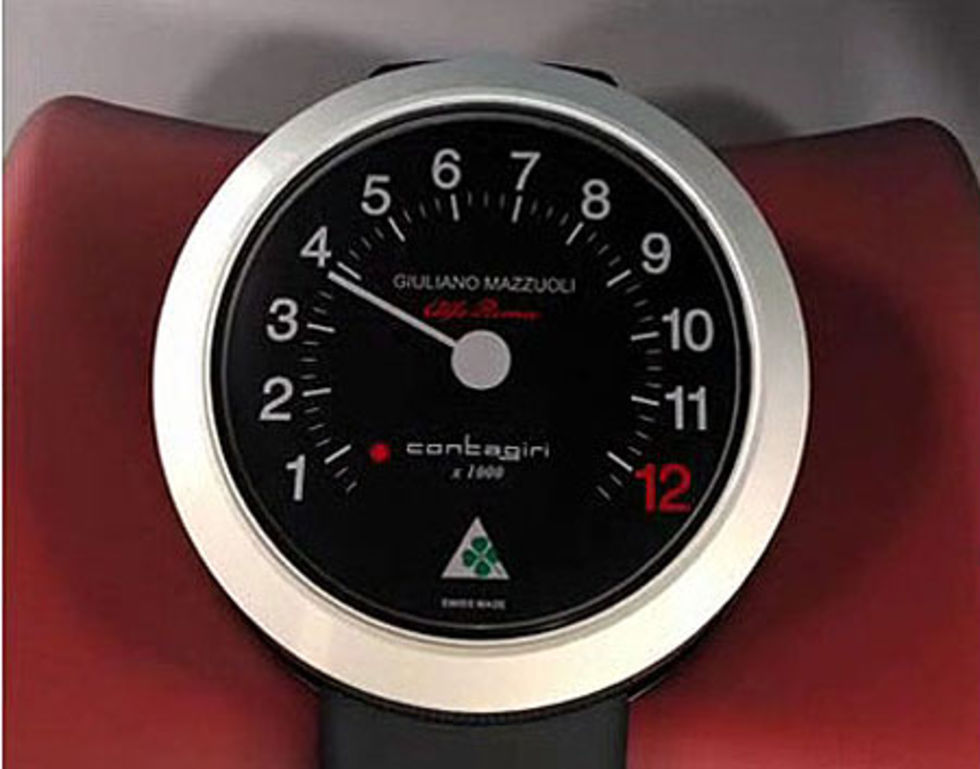 En klocka för alla Alfa-älskare (och alla oss andra)