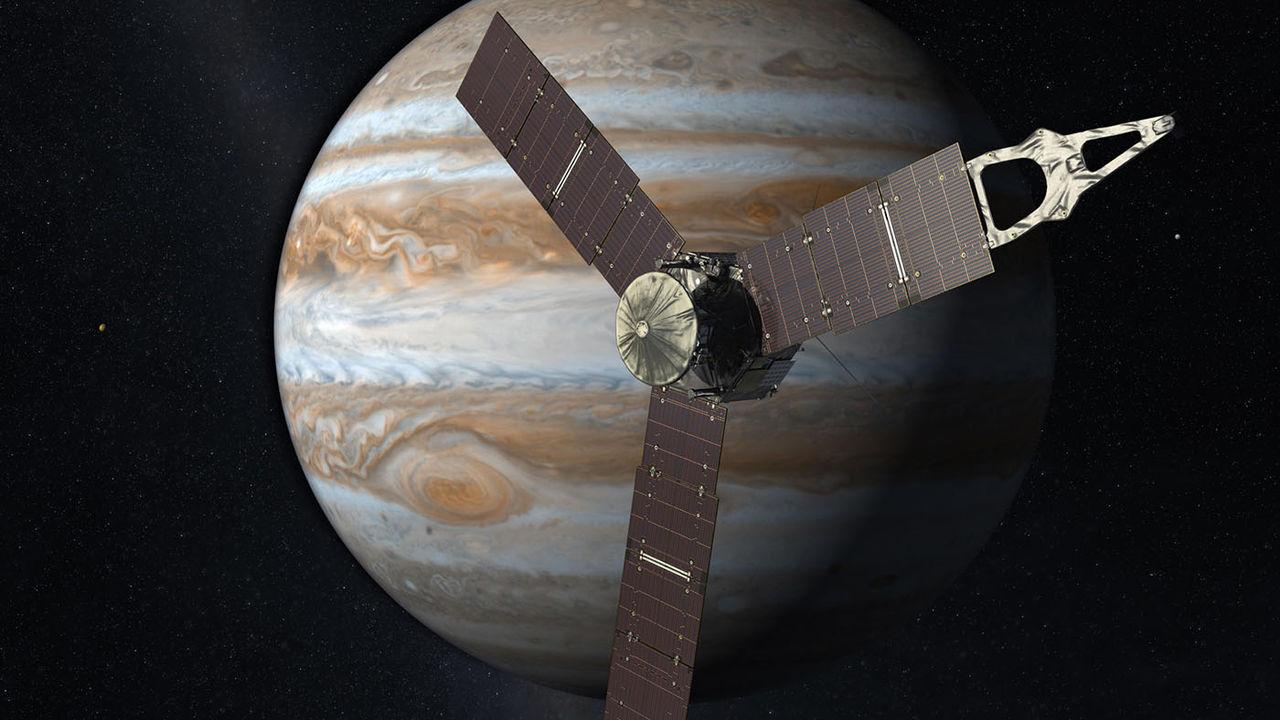 Juno är den soldrivna rymdfarkost som färdats längst från jorden