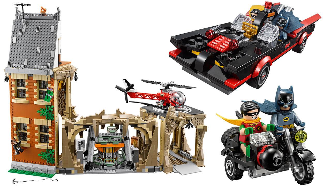 Lego släpper retro-Batman-byggsats