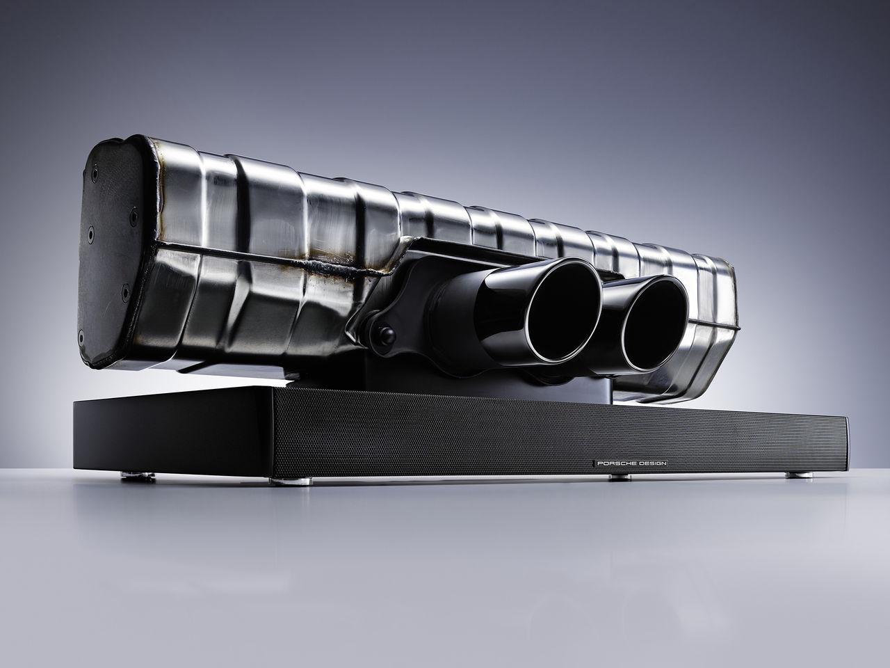 Porsches avgassystem blev till ljudanläggning