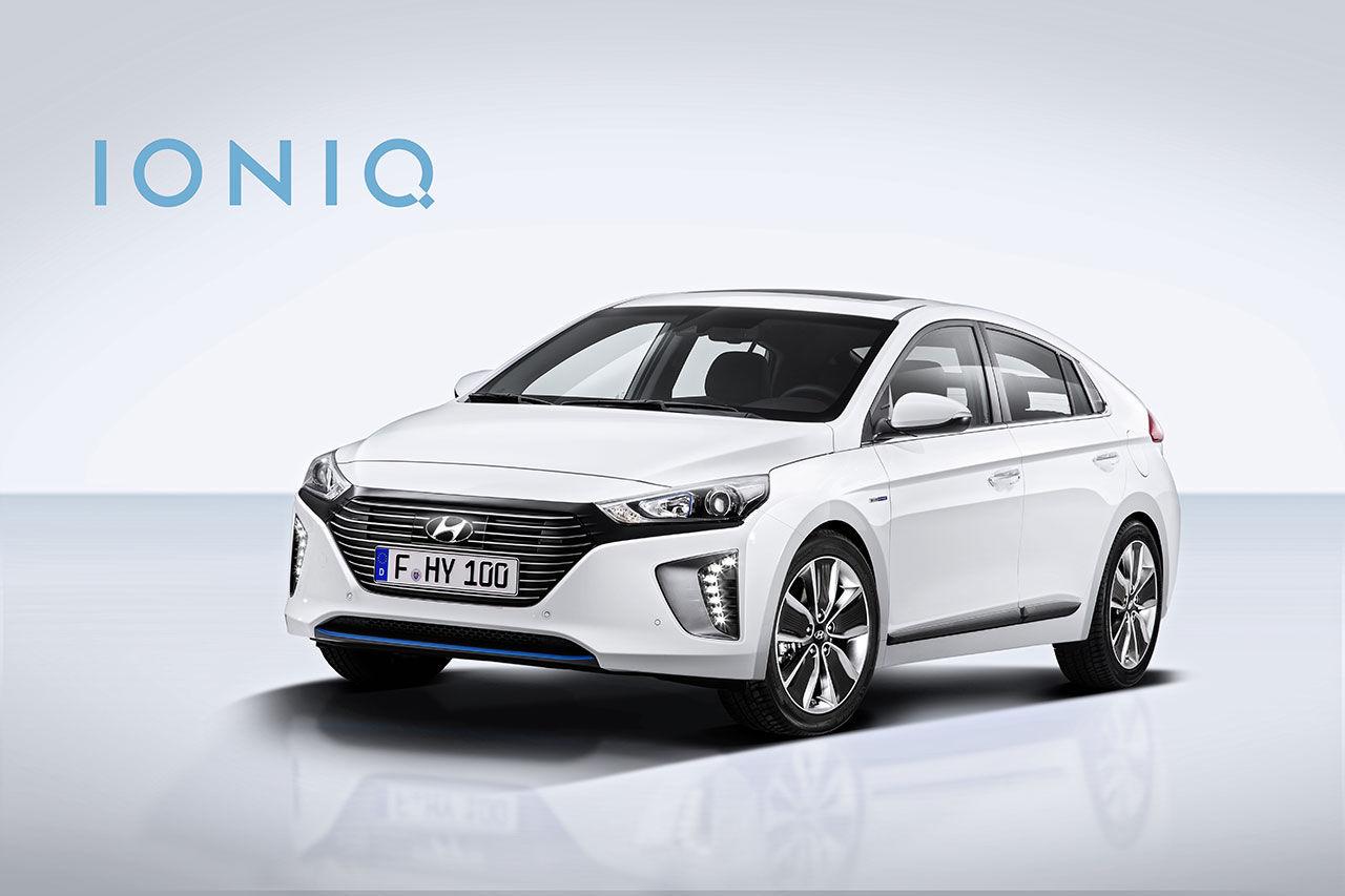 Hyundai Ioniq kommer till Sverige i år