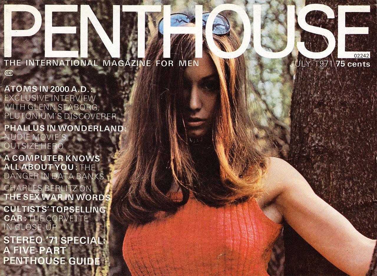 Tidningen Penthouse slutar snart att tryckas