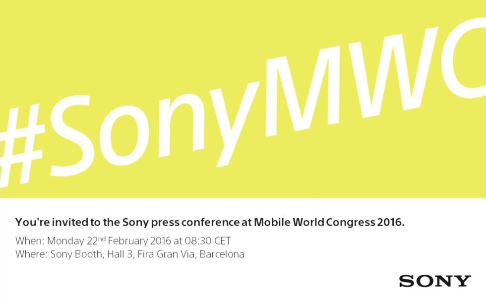 Sony bjuder in till fest i Barcelona
