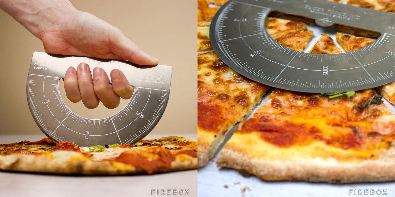 Få perfekt storlek på pizzaslicen