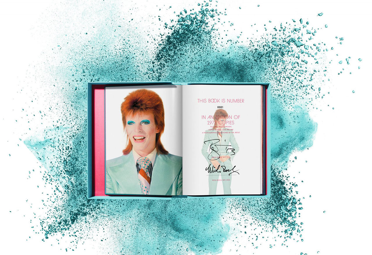Fin bok om Bowie med Mick Rocks bilder