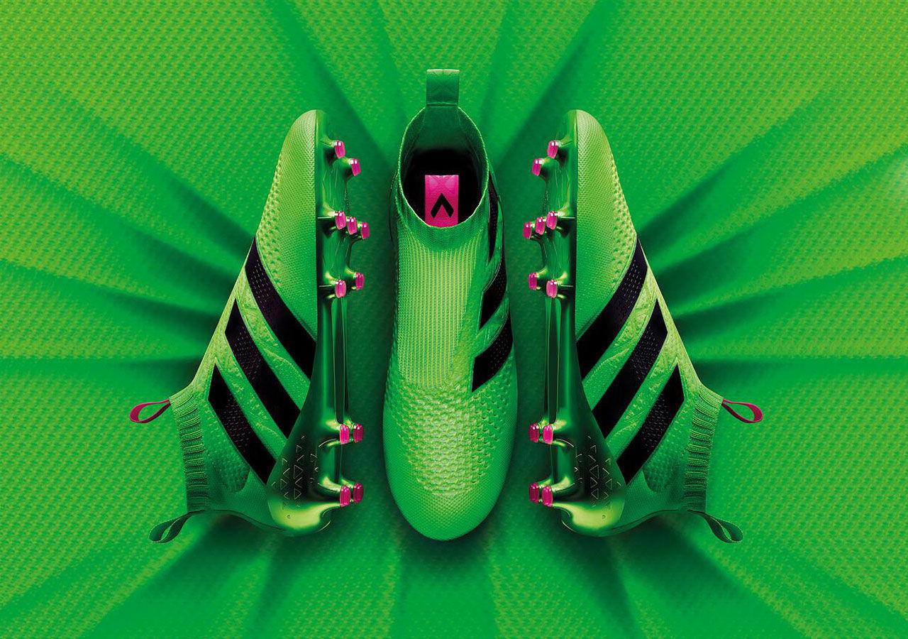 Adidas släpper fotbollssko utan skosnören