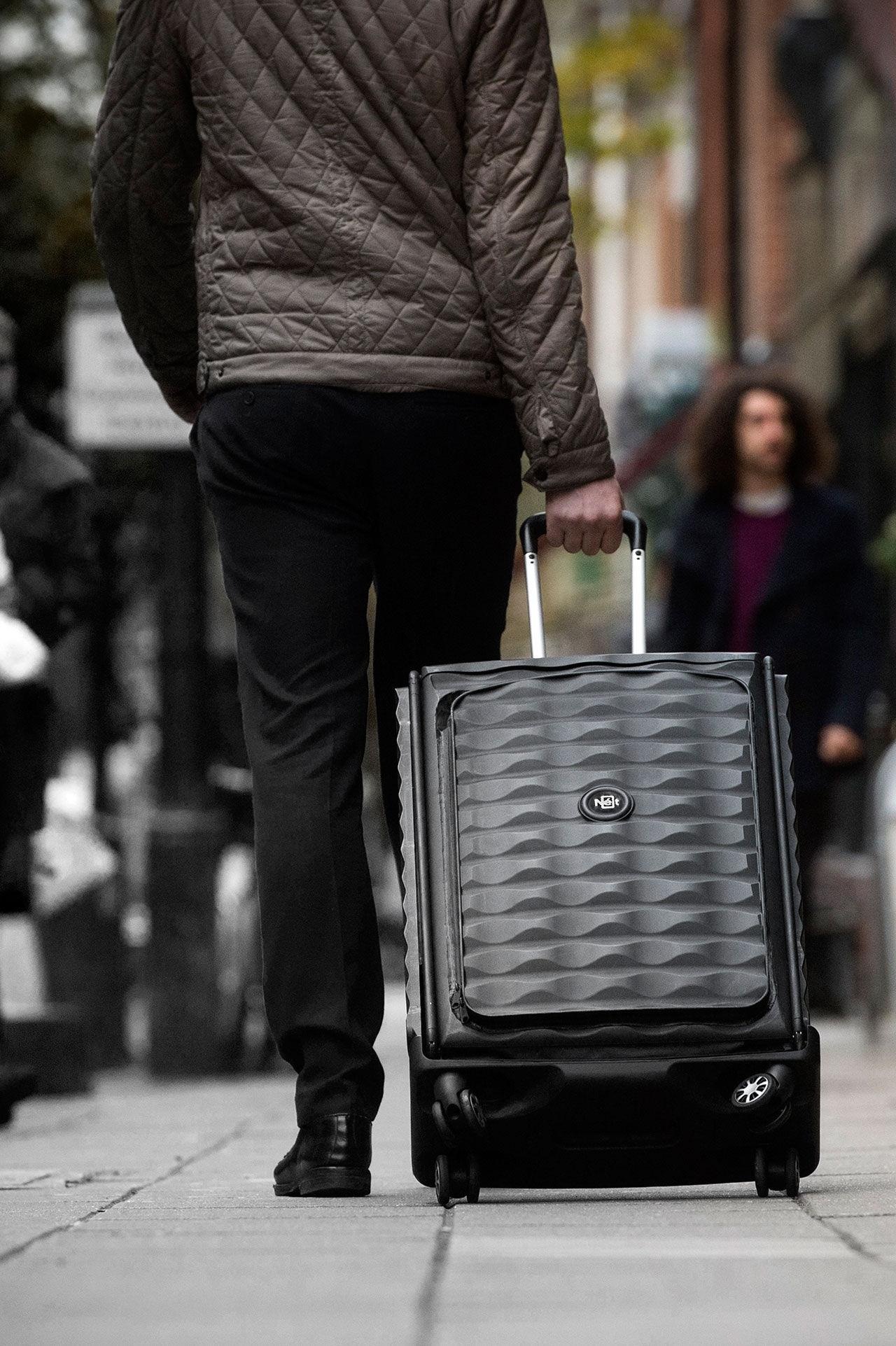 Resväskan som nästan inte tar någon plats