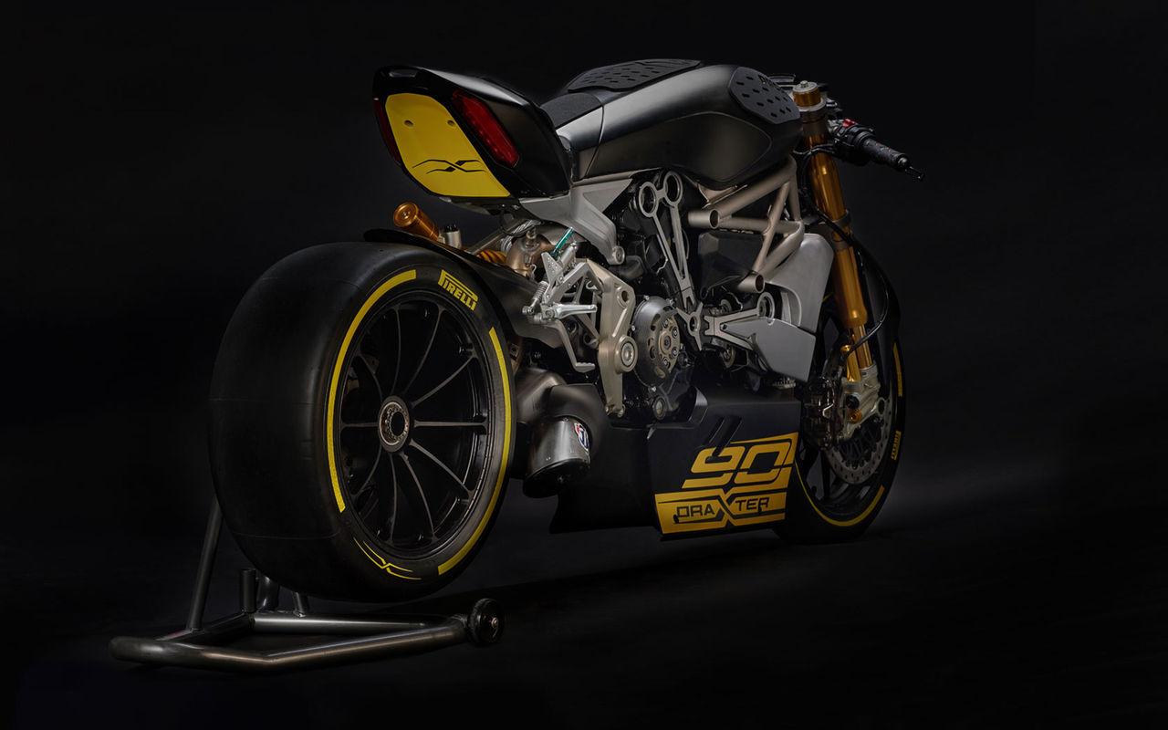 Ducati visar sportig tolkning av XDiavel