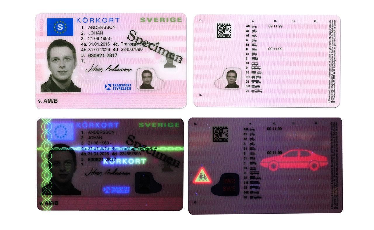 Körkortet får nytt utseende