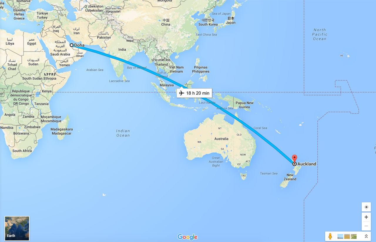 Detta kan bli världens längsta flygresa