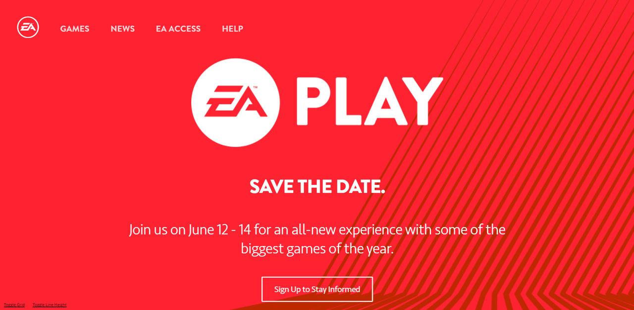 EA kör gratis spelevent dagarna innan E3 2016