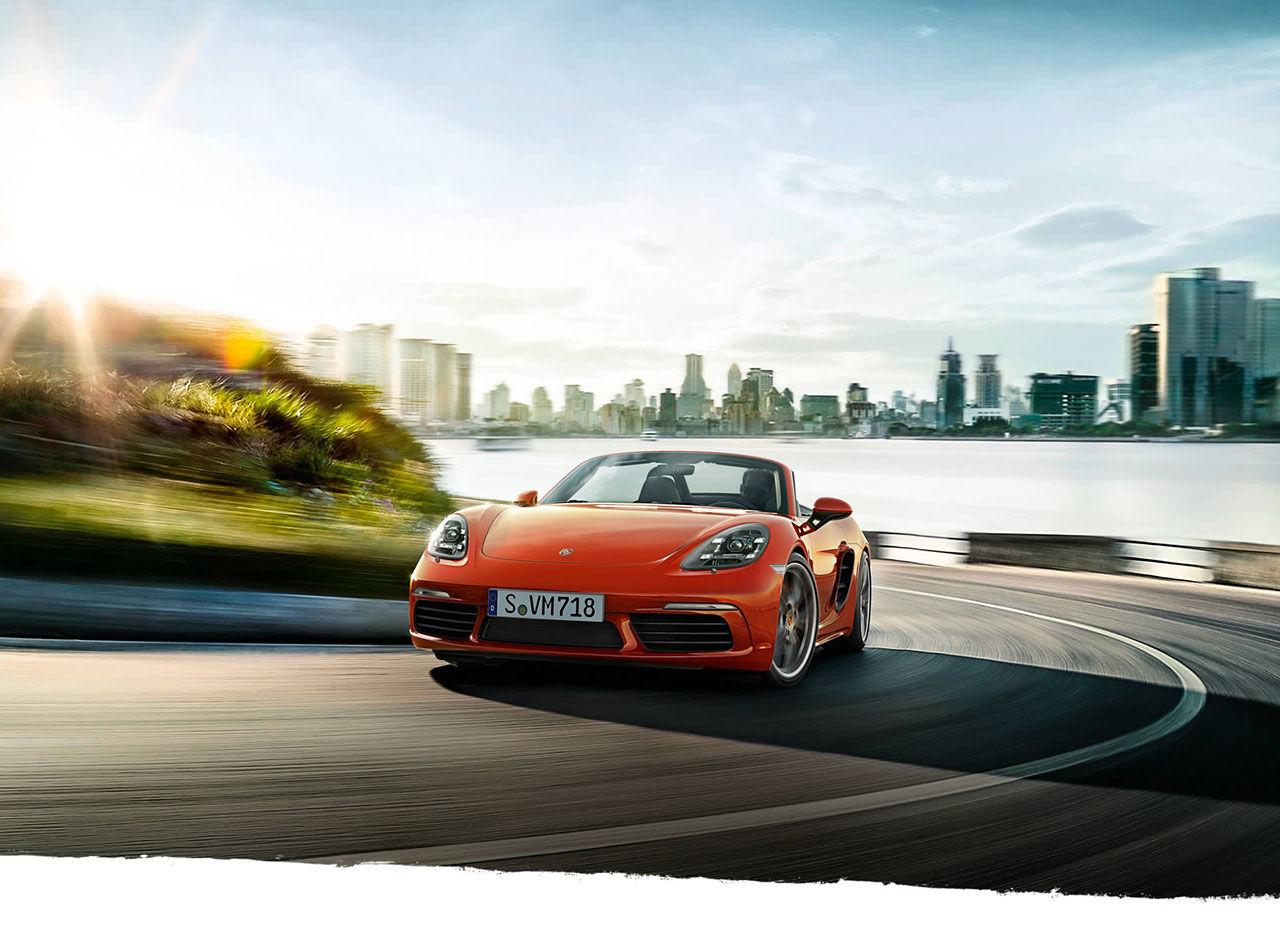 Nu är Porsche 718 Boxster här