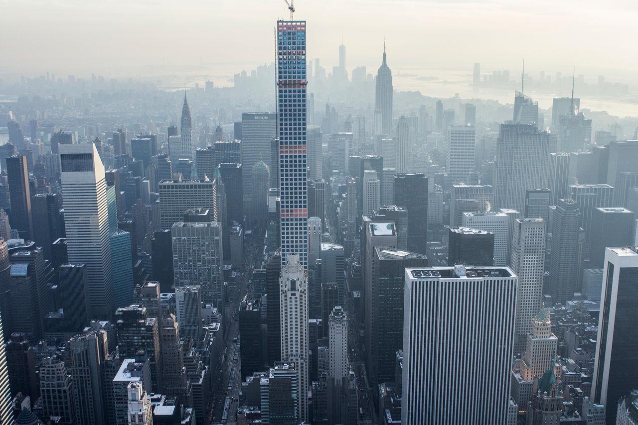 Nu finns det 100 superhöga skyskrapor i världen