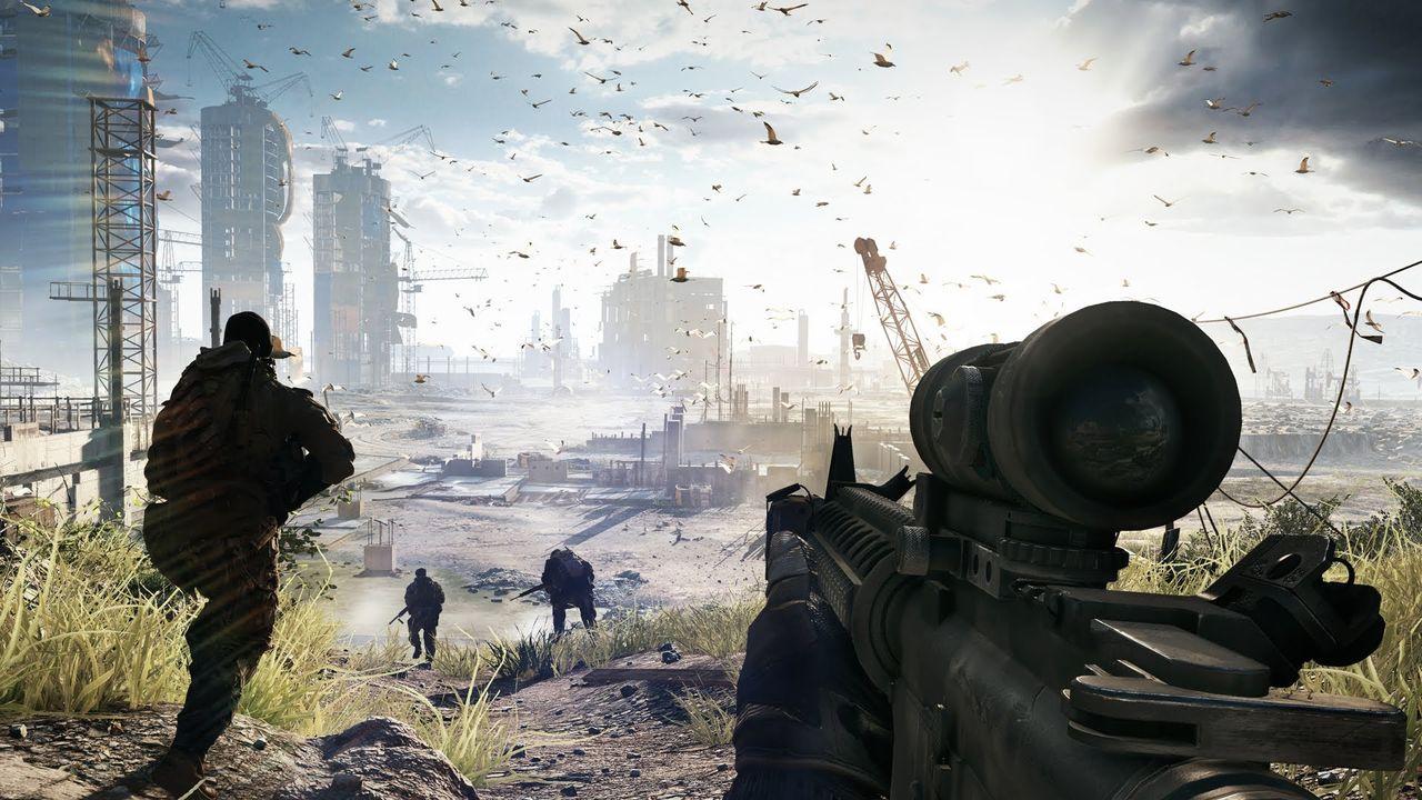 Nytt Battlefield från DICE lagom till julhandeln