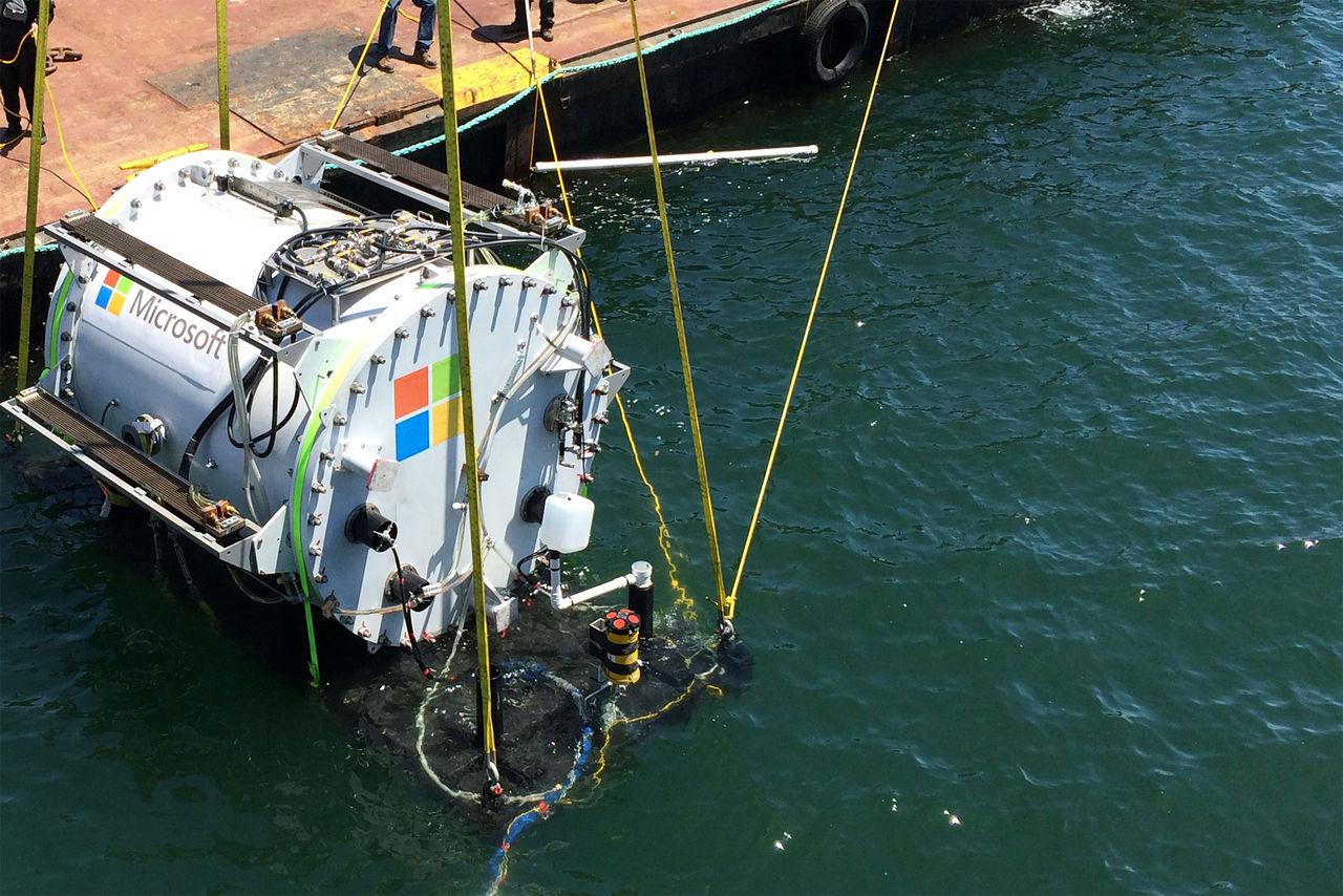 Microsoft vill placera datacenter under ytan