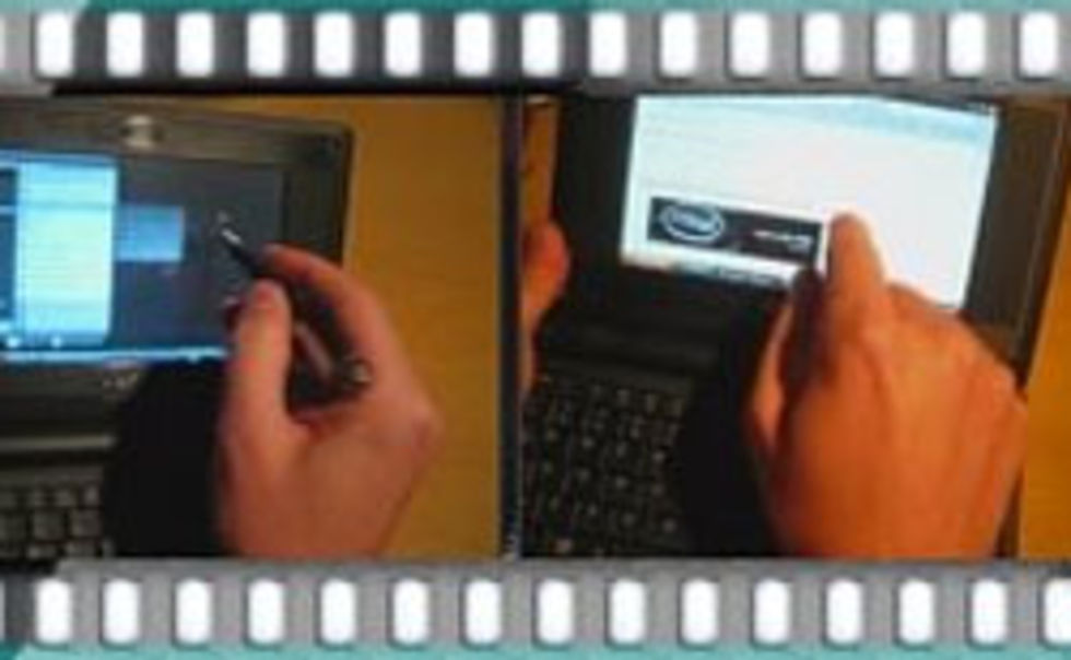 Asus Eee PC med touchscreen