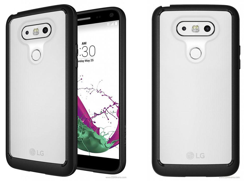 Bilder på LG G5 med skal läckt