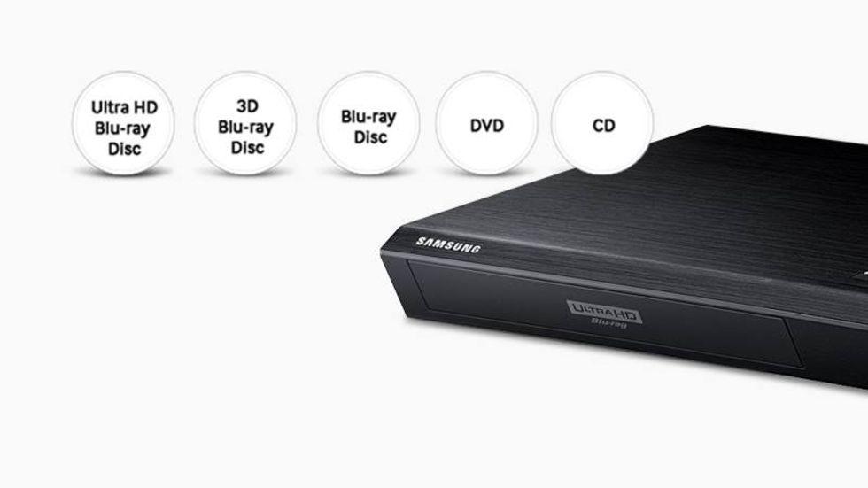 Samsung släpper världens första Ultra HD 4K Bluray-spelare