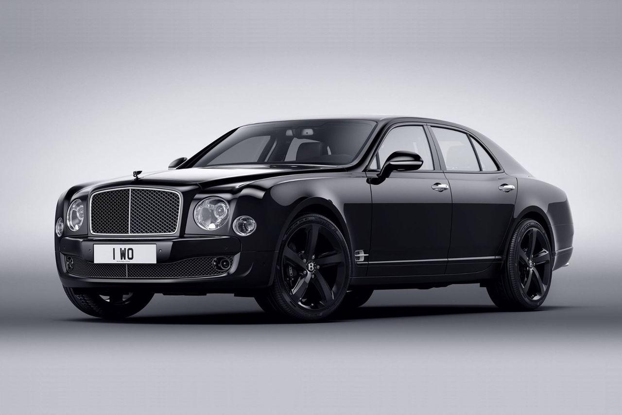 Bentley lika svart som den dyraste kaviaren
