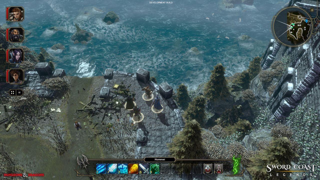 Sword Coast Legends släpps till konsol i vår