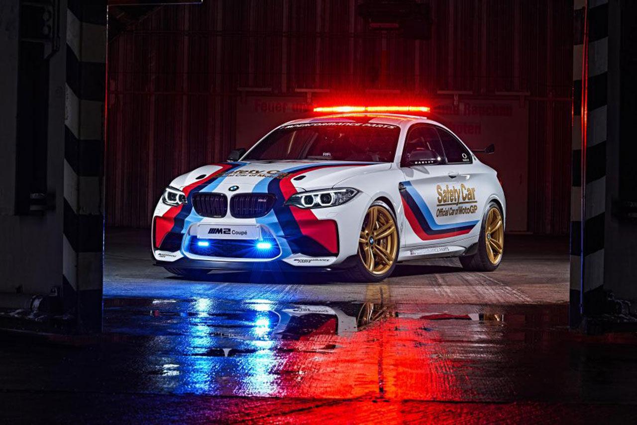 BMW M2 blir ny säkerhetsbil i MotoGP
