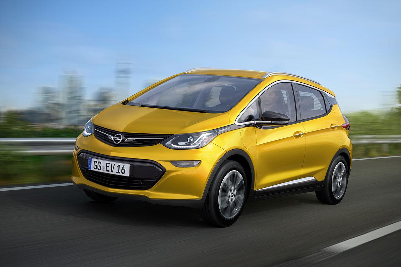 Ampera-e - Bolt med Opel-logga
