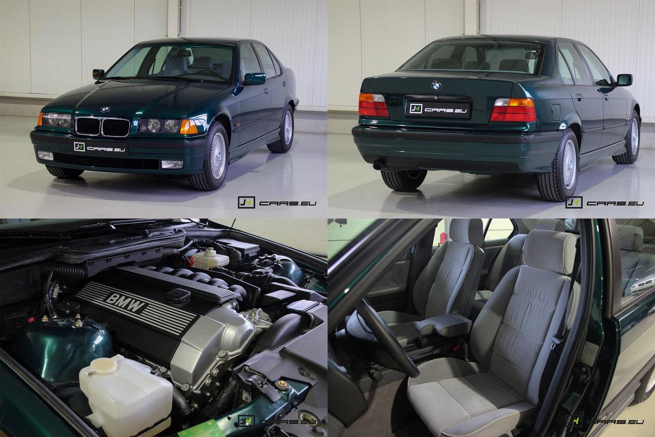 En BMW 3-serie med provocerande lite mil