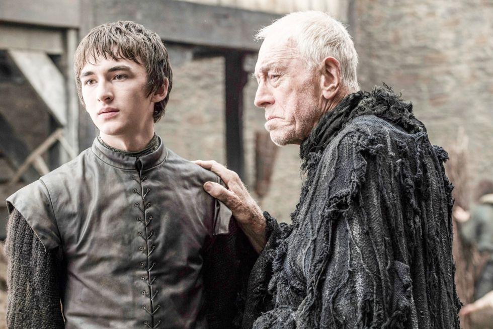 Ett gäng med bilder från säsong 6 av Game of Thrones