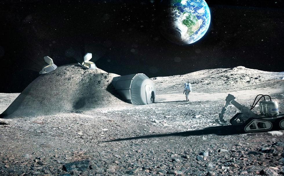 Är det så här vi kommer att bo i rymden?