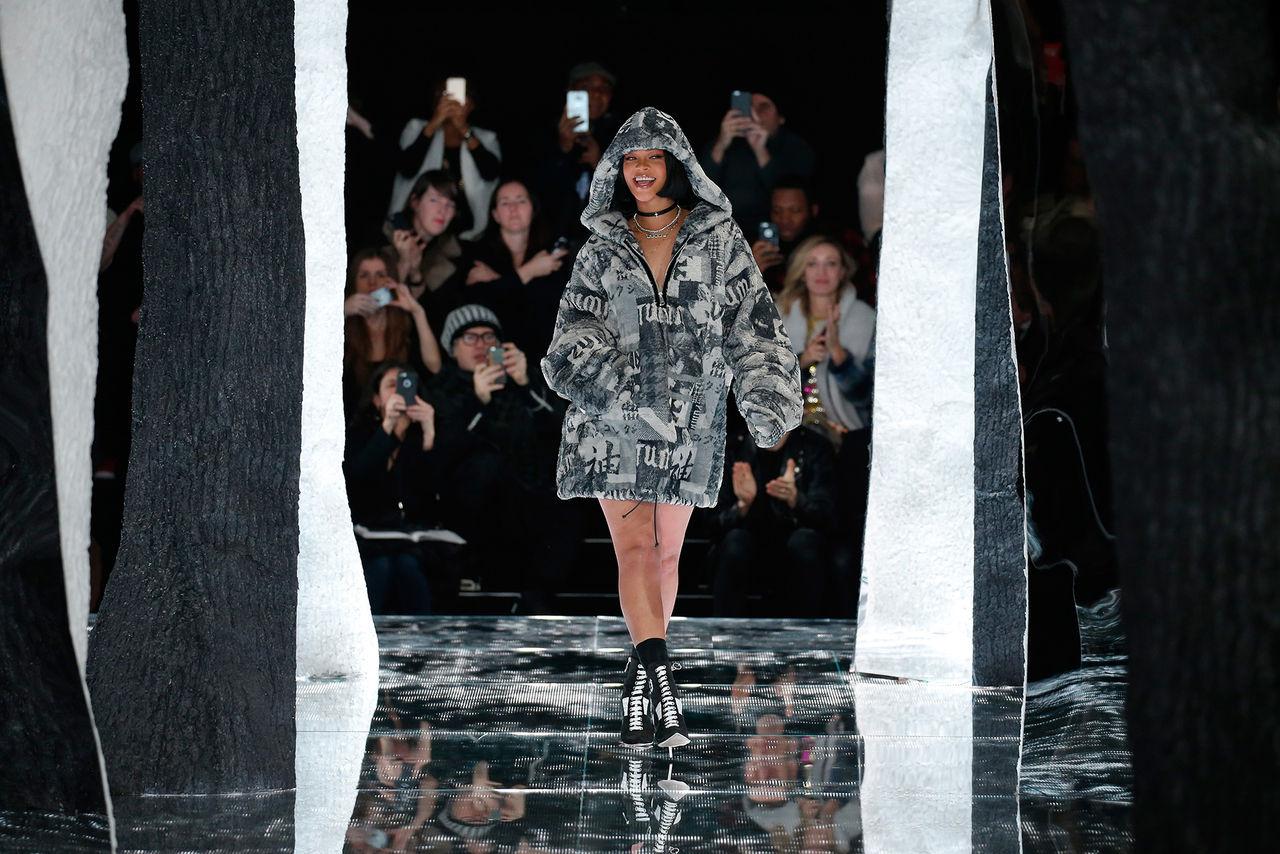 Rihanna visar kollektion med inspiration från Japan