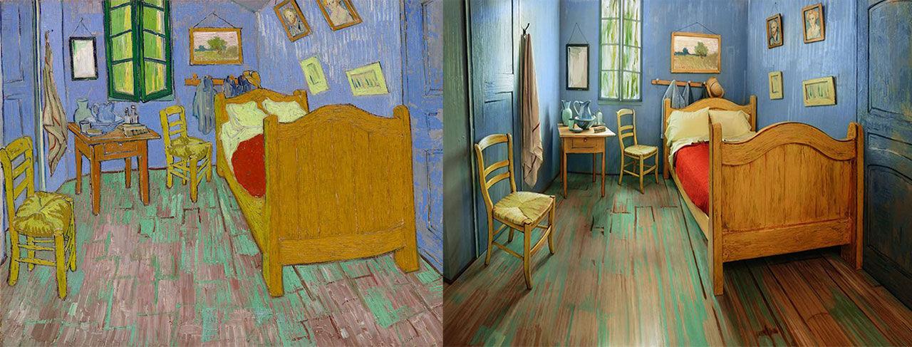 Bo i en av Van Goghs målningar