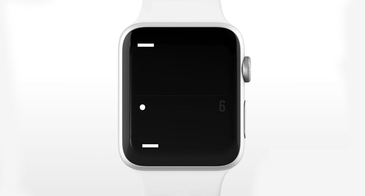 Pong kommer till Apple Watch
