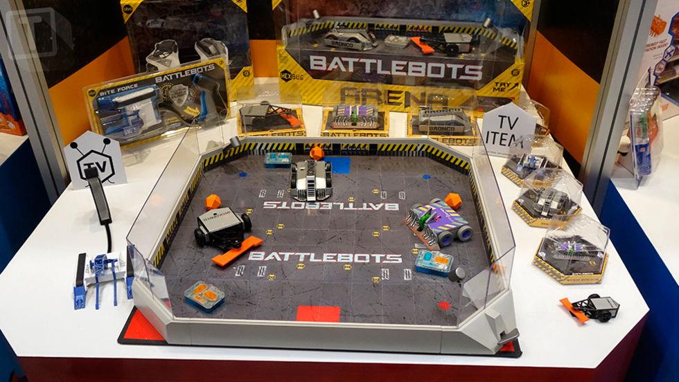 Miniversioner av BattleBots