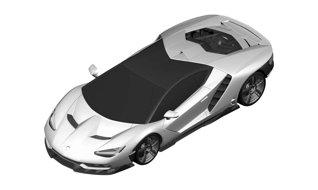 Det här borde vara Lamborghini Centenario