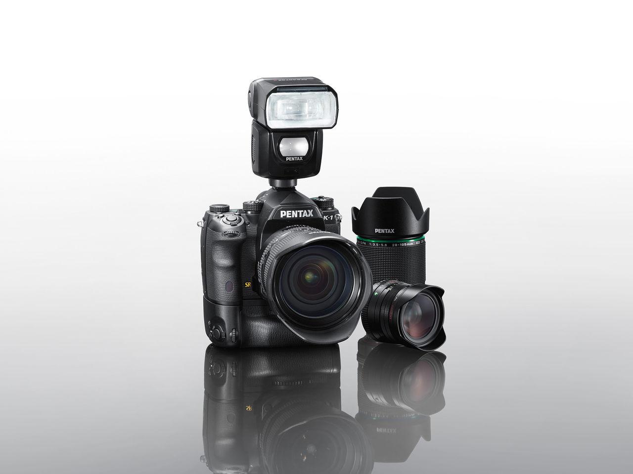 Ricoh presenterar sin fullformatskamera Pentax K-1